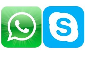 Diferencias entre Wassap y Skype