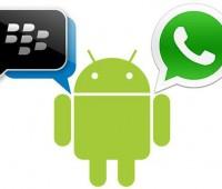 Diferencias entre WhatsApp y BBM